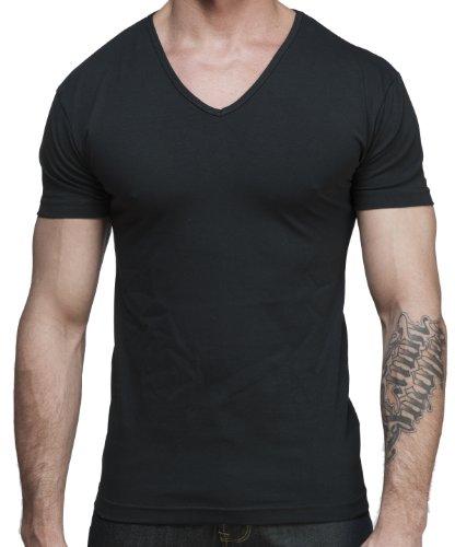 Lycra Jersey V Neck Sleeve T Shirt product image