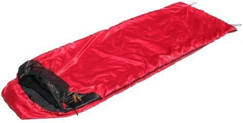 Traveler Right Side Zip Sleeping Bag, Red by Sleeping Bag