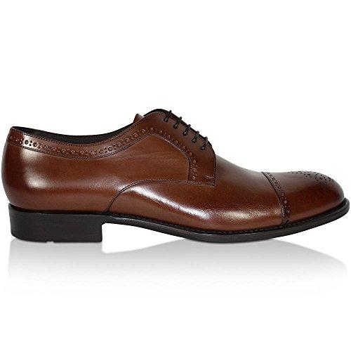 Hugo Boss - Zapatos de Cordones de Piel para Hombre: Amazon.es: Zapatos y complementos