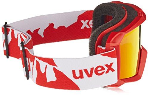 f52376d8633fb1 ... UVEX Masque de ski pour enfants flizz lm Rouge mat ...