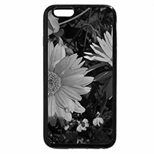 iPhone 6S Case, iPhone 6 Case (Black & White) - Colorful Flowers a garden makeup 08