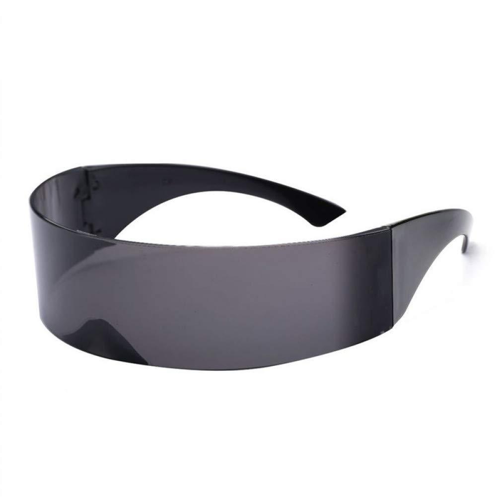 CCGKWW Divertido Envolvente Futurista Gafas De Sol Máscara ...