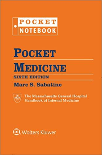 Medical book pocket