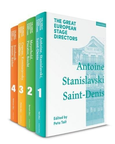 The Great European Stage Directors Set 1: Volumes 1-4: Pre-1950 (Great Stage Directors)