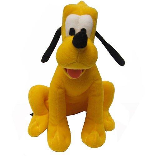 Disney Mickey Mouse Clubhouse Pluto Beanz Plush (Flush Teddy Bear)