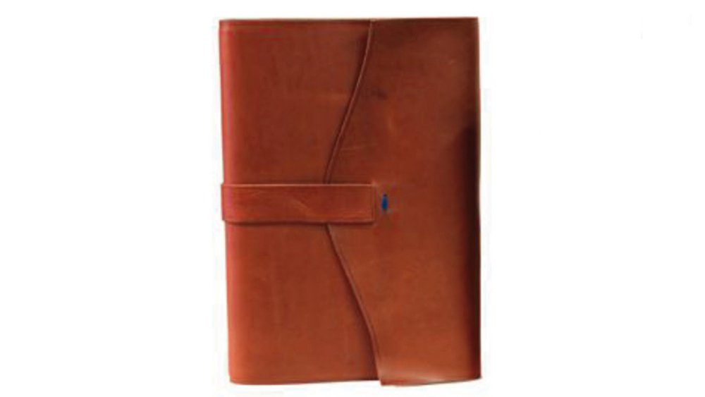 il Torchio - Leather-bound notebook with refillable pages