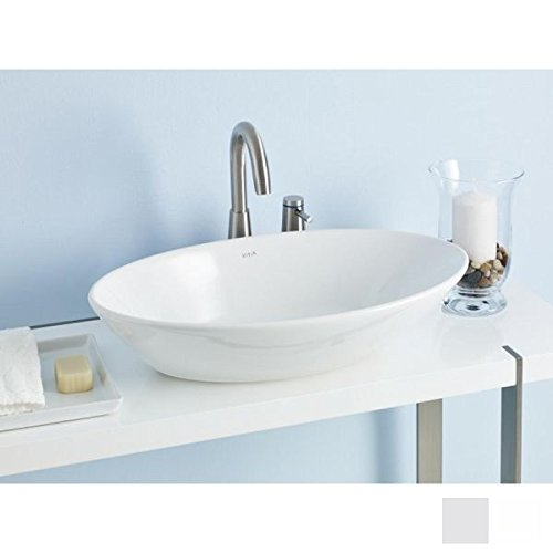 Cheviot 1276-WH White Geo Vessel Sink by Cheviot