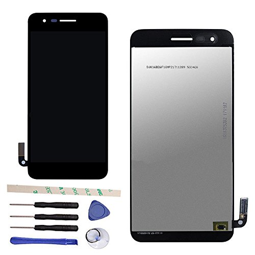 (Draxlgon LCD Display Touch Screen Digitizer Assembly Replacement for L G Aristo 2 Plus T-Mobile X212TA X212TAL)
