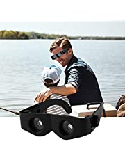 BXU-BG High Quality Portable Bril Stijl Magnifier Black Telescope Verrekijkers Gereedschap accessoire for Hengelsport Hiking Option