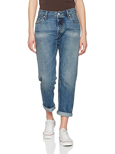 Levi's Mujer Para Azul Jeans 501 Tapered petróleo TwAqTr