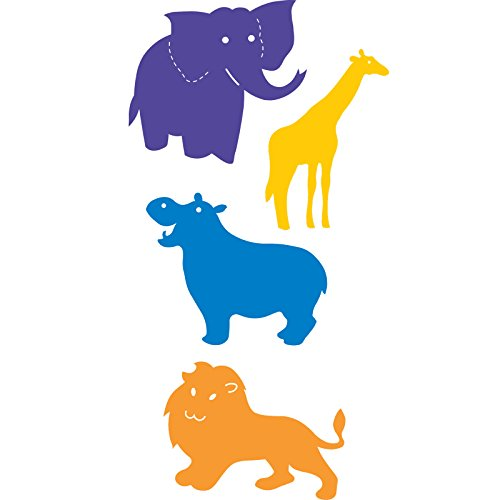Die Set Zoo (Ellison Zoo Animals Basic Beginnings Sure Cut Die Set, Large)