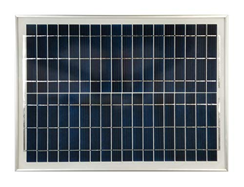 SGF-1200 20 Watt Solar Panel for 12 Volt Charging and Mighty Mule DUAL Gate Openers