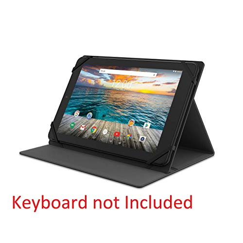 RCA 10 Inch Android Tablet 32G Folio with WiFi, Bluetooth (Black)