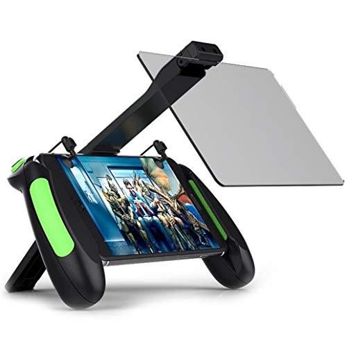 Mobile Phone Screen Magnifier Game Controller Grip Holder L1 R1 Trigger Holder for Honour of Kings & PUBG - Black Green (Honour Mobiles)