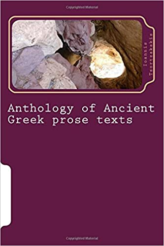 Anthology of Ancient Greek prose texts: Classical Attic prose: historiography, philosophy, rhetoric