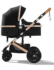 Belico Market Kids Travel Hiking Stroller Lightweight Easy Folding Storage - Black