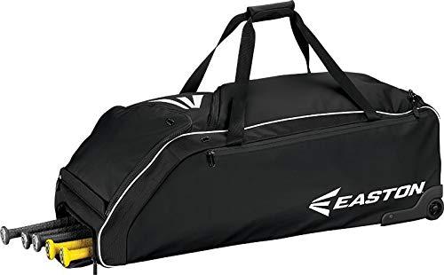 - Easton E610W Wheeled Bag Baseball Bag, Black, 36