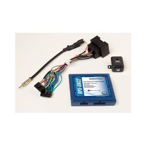Pac rp5gm32 Radio Replacement Interface With Onstar Telemetics Retention Steering Wheel Control by PAC