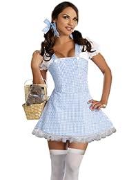 Women's Blue Gingham Dress