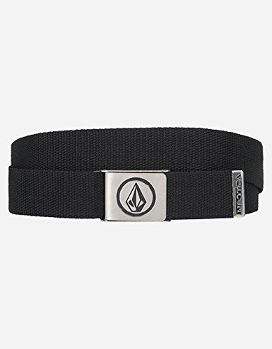 Volcom Men's Circle Web Belt, Black, One - Volcom Mens Belt Buckle Shopping Results