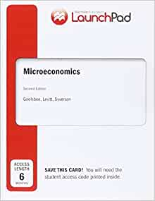 microeconomics second edition goolsbee pdf