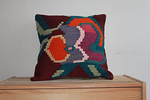 16x16,40x40,Vintage Pillow,Bojemian Pillow,Rustic Pillow,square Pillow,Cushion,Emrodeired Pillow,MulticolorPillow,Evil eye Cushion,Fine Pillow (Ottomans Online Cheap)