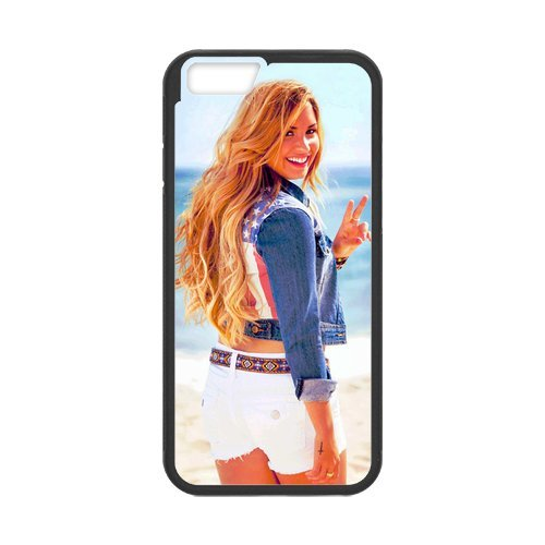 """Fayruz - iPhone 6 Rubber Cases, Demi Lovato Hard Phone Cover for iPhone 6 4.7"""" F-i5G448"""