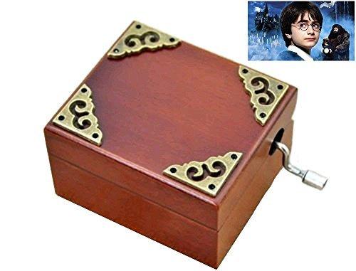 clásico Square Tema de mano manivela Music Box: Hedwig (banda Sonora)