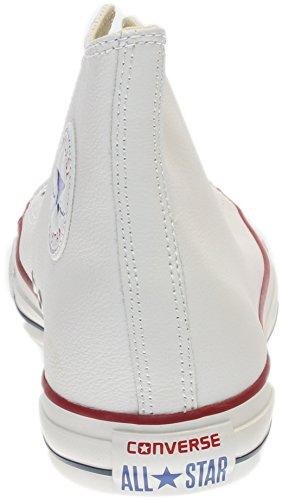 Converse Chuck Taylor All Star Mono Leather Hi - Zapatillas unisex Bianco
