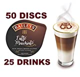 tassimo coffee disc latte - 50 x Tassimo Baileys Latte Macchiato Pods T-Discs, 25 Drinks - Sold Loose