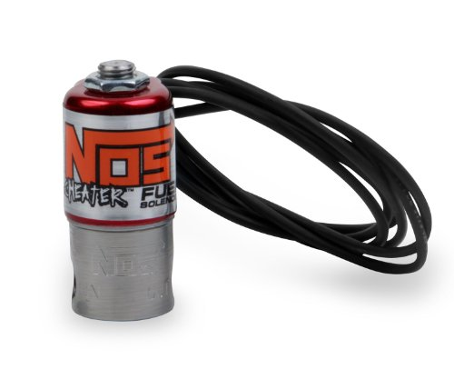 - NOS/Nitrous Oxide System 18055NOS Cheater Fuel Solenoid 400 HP Max 2.7 Amp Draw 1/8 in. NPT Inlet/Outlet Small Coil Cheater Fuel Solenoid