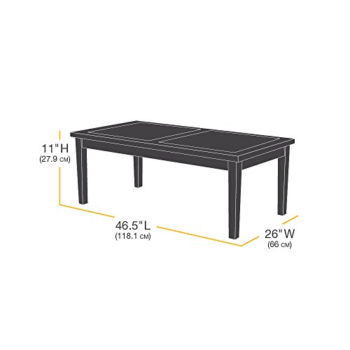 Amazonbasics Coffee Table Patio Cover Import It All