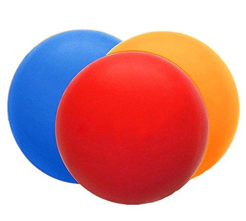 Westeng Pelota Bola Lacrosse Masaje Yoga Roller Ball Massage Punto Presión Pelota Masajear Terapias Rehabilitación Fisioterapia Color Al Azar,3Pcs Color Al Azar 3Pcs