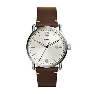 Fossil Men's The Commuter Analog quartz Brown Watch, (FS5275)