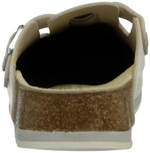 Birkenstock Unisex Professional Boston Super Grip Leather Slip Resistant Work Shoe,White,44 M EU by Birkenstock (Image #2)