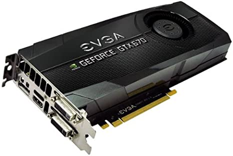 Amazon.com: EVGA GeForce GTX670 FTW 2048 MB, GDDR5, 256 Bit ...