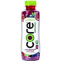 Deals on Pack of 12 CORE Organic, Pomegranate Blue Acai, 18 Fl Oz
