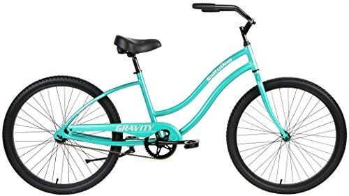 Gravity Salty Dog ALUMINUM Beach Cruiser Single Speed Bicycle