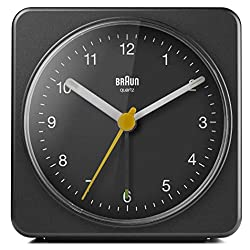 Braun BC03B Analog Travel Alarm Clock (Larger version)