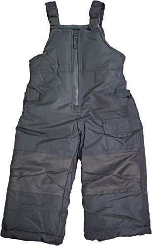 Weather Tamer Weathertamer - Boys Bib Snowpants, Charcoal Grey 40030-4-FBA