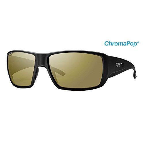 Smith Optics Guide's Choice Sunglasses(Matte Black , Polarized Bronze - Sunglasses Guides Choice
