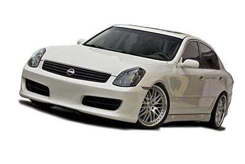 (KBD Body Kits Compatible with Infiniti G35 4DR Sedan 2003-2004 Hidori Style 1 Piece Flexfit Polyurethane Front Bumper. Extremely Durable, Easy Installation, Guaranteed Fitment, Made in the USA!)