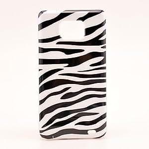 Zebra Stripe Pattern Hard Case for Samsung Galaxy S2 I9100