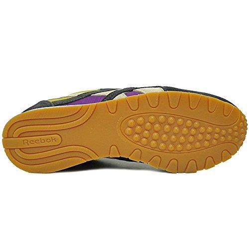 Reebok Classic Nylon Slim Alicia Keys Femme Baskets/Sneakers, Gris Violet-gris
