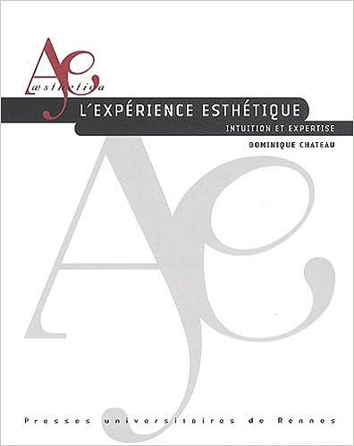 Livres L'expérience esthétique : Intuition et expertise pdf, epub ebook