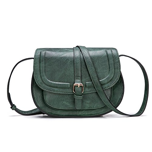 Women Crossbody Satchel Bag Small Saddle Purse and Tote Shoulder - Shoulder Classic Bag Vintage