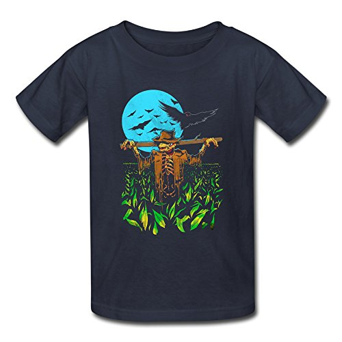Big Boy Girls' 2016 Halloween Corn Monster Costume Tees Navy