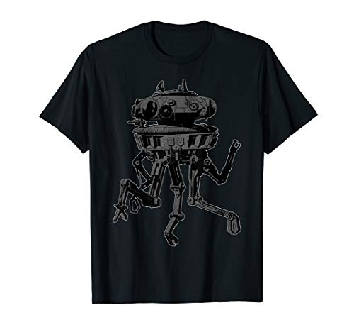 - Star Wars Imperial Viper Probe Droid on Hoth Graphic T-Shirt