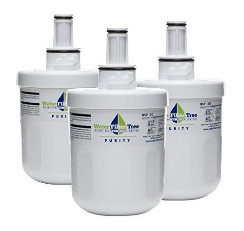 Samsung Refrigerator Replacement Water Filter for DA29-00003G, DA29-00003F, DA29-00003A, DA29-00003B - 3 X WLF-3G - Pack of 3