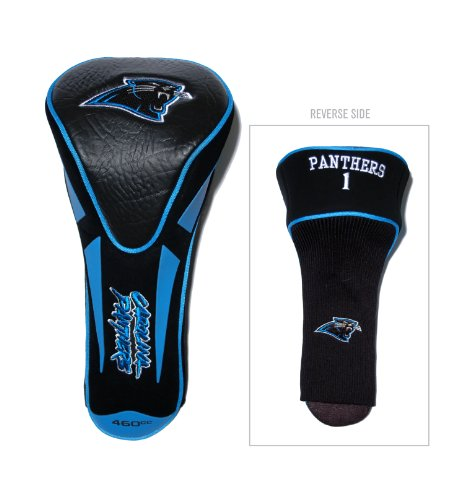 Team Golf NFL Carolina Panthers Golf Club Single Apex Driver Headcover, Fits All Oversized Clubs, Truly Sleek Design